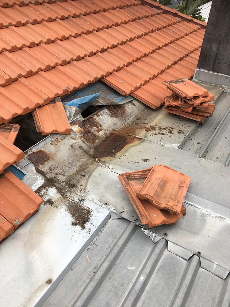 leaking roof repairer sydney